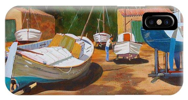 Cala Figuera Boatyard - I IPhone Case