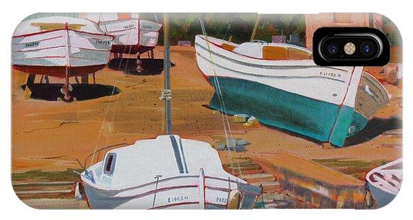 Cala Figuera Boatyard - II IPhone Case