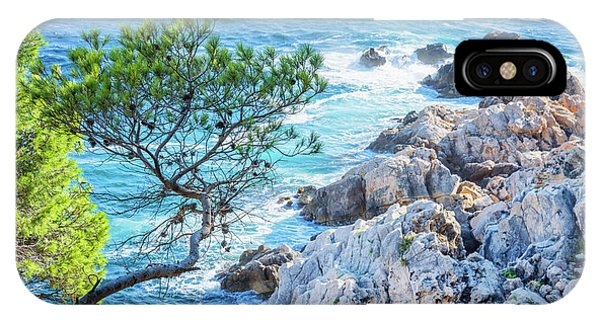 French Riviera iPhone Case - Calanque by Delphimages Photo Creations