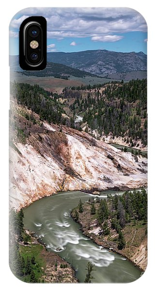 Calcite Springs Overlook  IPhone Case
