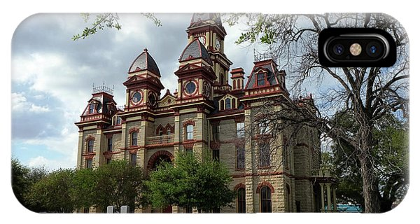IPhone Case featuring the photograph Caldwell County Courthouse by Ricardo J Ruiz de Porras