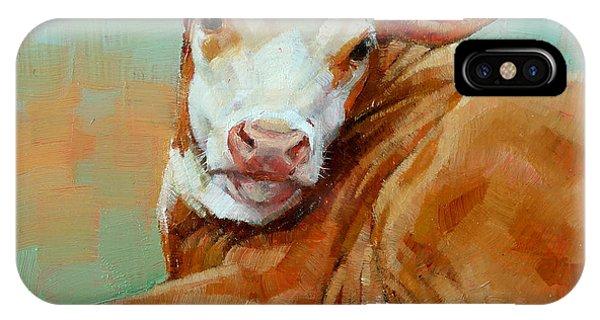 Calf Resting IPhone Case