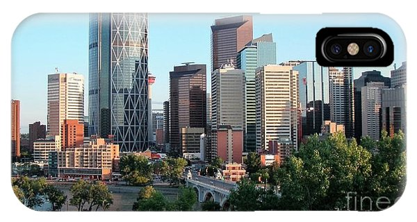 Calgary 2 IPhone Case