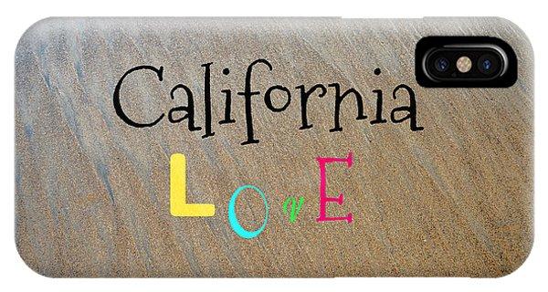 Cali Love IPhone Case