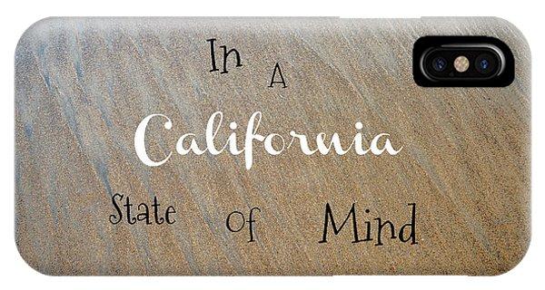Cali State Of Mind IPhone Case