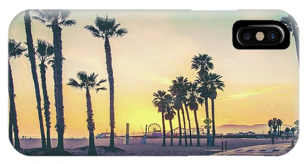 Cali Sunset IPhone Case