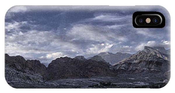 Calico Basin Panorama IPhone Case