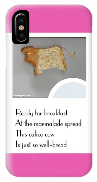 Calico Cow IPhone Case
