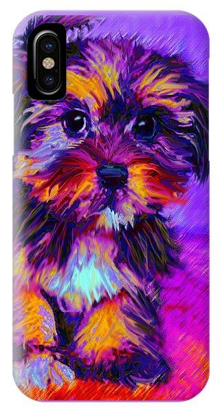 Calico Dog IPhone Case