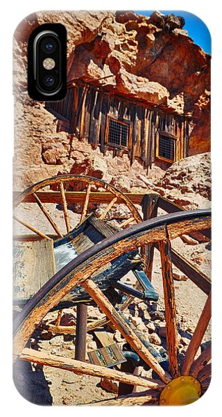 Calico Ghost Town Mine IPhone Case