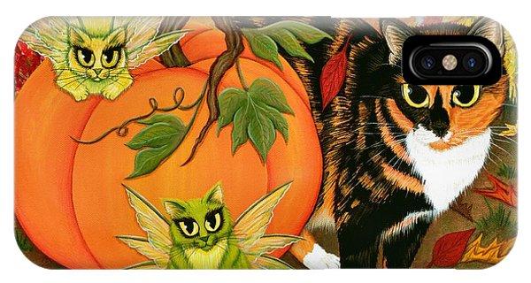Calico's Mystical Pumpkin IPhone Case