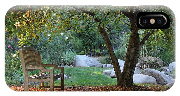 Assisted Living iPhone Case - California Autumn by Jan Cipolla