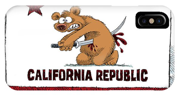 California Budget Harakiri IPhone Case