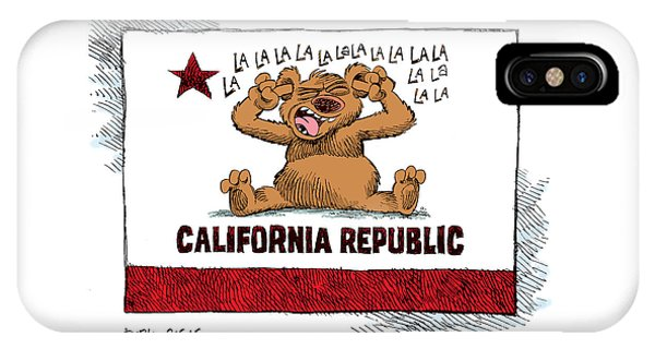 California Budget La La La IPhone Case
