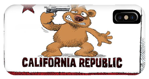 California Budget Suicide IPhone Case