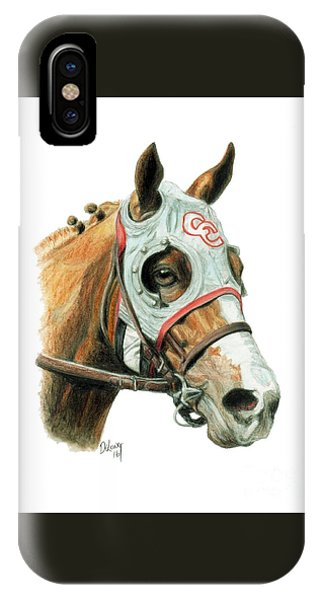Horse iPhone X Case - California Chrome  2016 by Pat DeLong