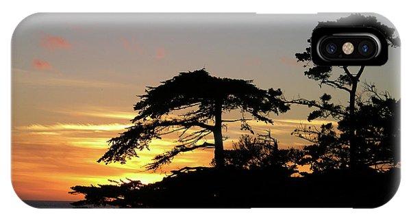 California Coastal Sunset IPhone Case