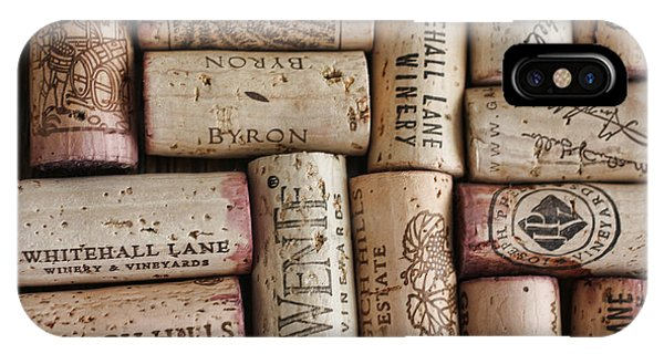 IPhone Case featuring the photograph California Corks by Nancy Ingersoll