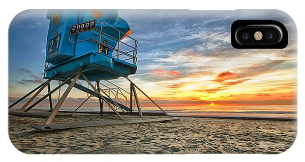 Sun iPhone Case - California Dreaming by Larry Marshall