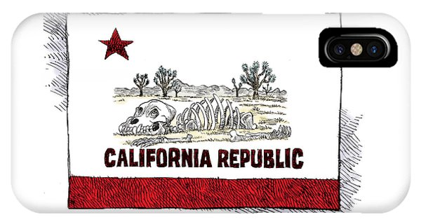 California Drought IPhone Case