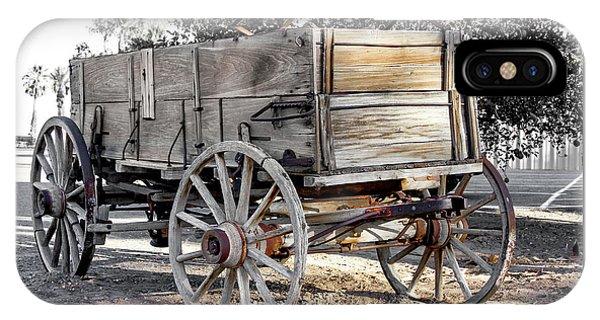 California Farm Wagon IPhone Case