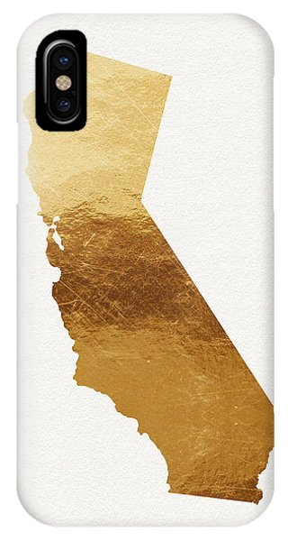 California iPhone Case - California Gold- Art By Linda Woods by Linda Woods