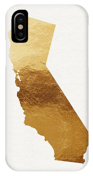 Wood iPhone Case - California Gold- Art By Linda Woods by Linda Woods