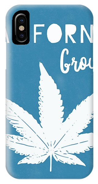 Den iPhone Case - California Grown Cannabis- Art By Linda Woods by Linda Woods