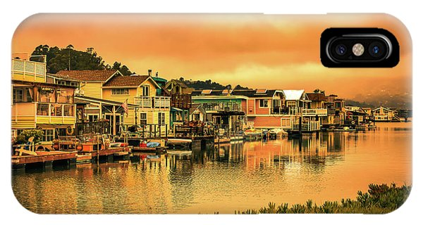California Houseboats IPhone Case