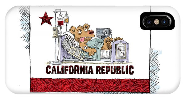 California Is Sick IPhone Case