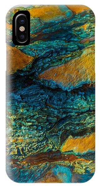 California Pine Bark Abstract IPhone Case