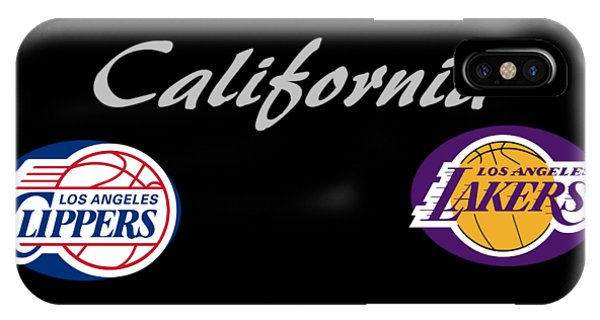 California Professional Sport Teams Collage  IPhone Case