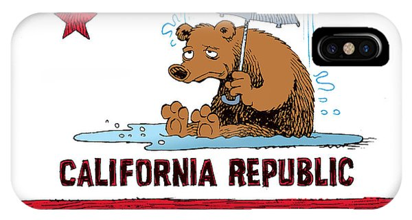 California Rain IPhone Case