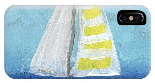 Barbara iPhone Case - California Sailing- Art By Linda Woods by Linda Woods