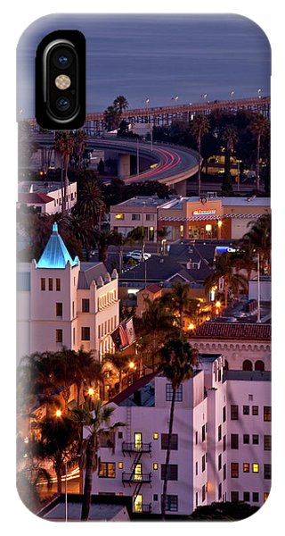 California Street At Ventura California IPhone Case