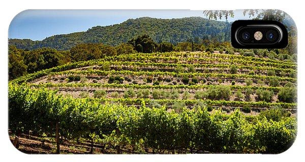 California Vineyard Phone Case by Robert Davis