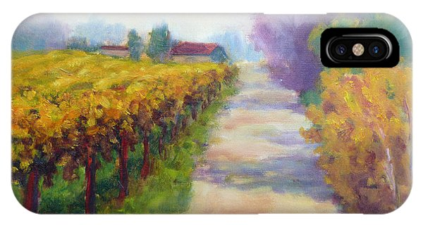 California Wine Country IPhone Case