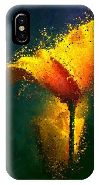 Californian Poppy IPhone Case