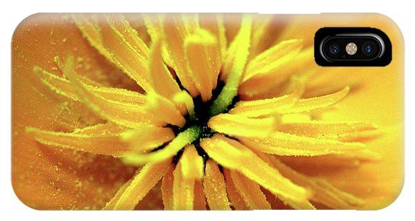 Californian Poppy Macro IPhone Case