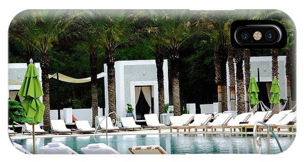 iPhone Case - Caliza Pool In Alys Beach by Megan Cohen