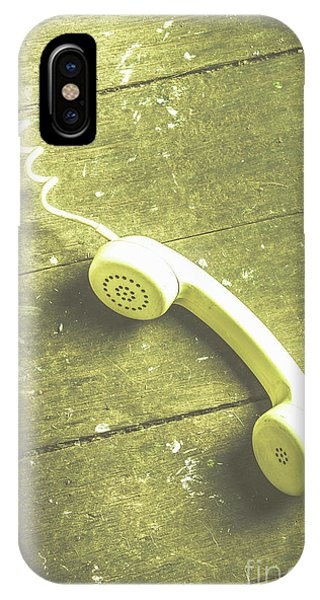 Wood Floor iPhone Case - Call That Never Came by Jorgo Photography - Wall Art Gallery