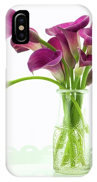 Calla Bouquet IPhone Case