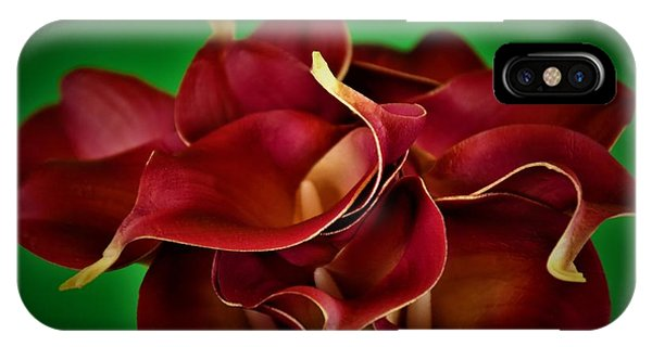 Calla Lily Bouquet IPhone Case