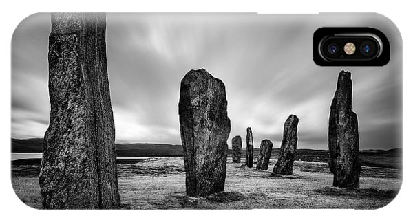 Callanish Stones 2 IPhone Case