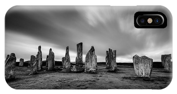 Callanish Stones 1 IPhone Case