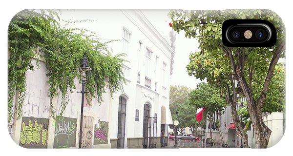 Callejon Amor, Ponce, Puerto Rico IPhone Case