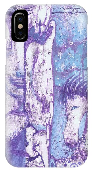 Calling Upon Spirit Animals IPhone Case