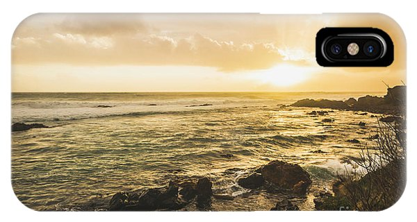 Tidal iPhone Case - Calm After The Storm by Jorgo Photography - Wall Art Gallery