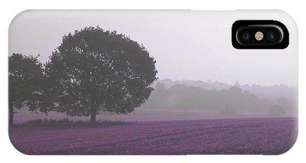 Calm Autumn Mist IPhone Case