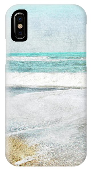 Wood iPhone Case - Calm Coast- Art By Linda Woods by Linda Woods